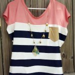Trendy Sewing Patterns Trendy Nautical Womens Top Free Sewing Pattern