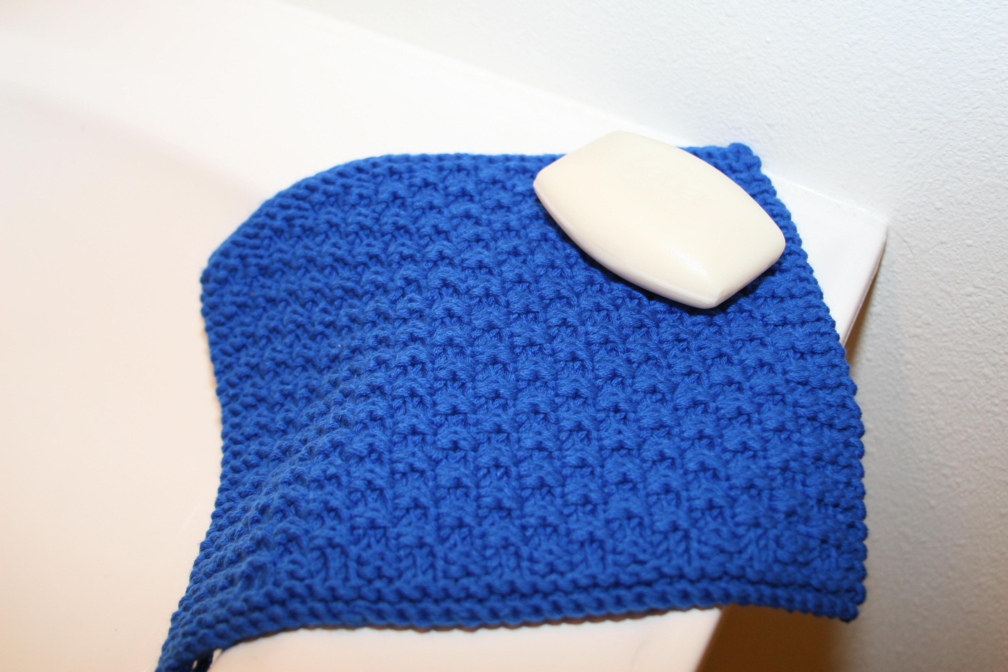 Washcloth Knitting Pattern Box Stitch Washcloth Pattern Kb Looms Blog