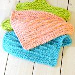 Washcloth Knitting Pattern Dishcloth Farmhouse Kitchen Knitted Dishcloths Just Be Crafty