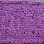 Washcloth Knitting Pattern Dishcloth Free Knit Dishcloth Patterns Snuggling Cats Knit Dishcloth Pattern