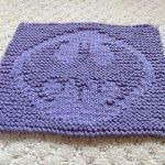Washcloth Knitting Pattern Dishcloth Science Fiction And Fantasy Dish Cloth Knitting Patterns In The