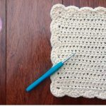 Washcloth Knitting Pattern Easy How To Crochet A Dishcloth Washcloth Easy Step Step For