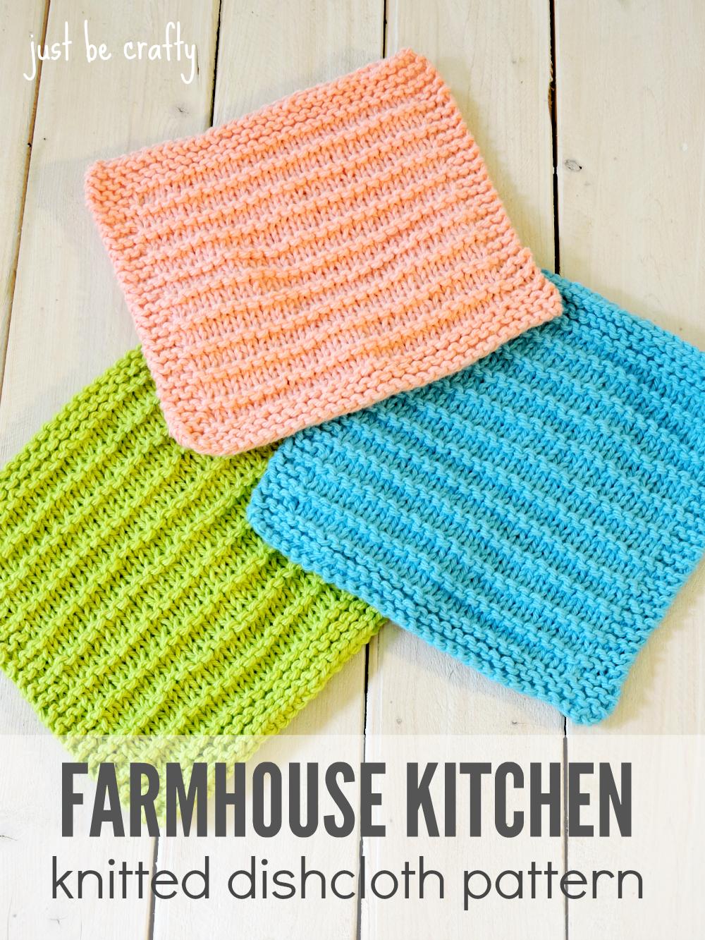 Washcloth Knitting Pattern Free Farmhouse Kitchen Knitted Dishcloths Moogly Community Board