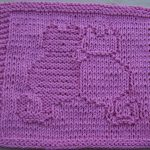Washcloth Knitting Pattern Free Free Knit Dishcloth Patterns Snuggling Cats Knit Dishcloth Pattern
