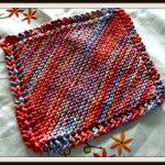 Washcloth Knitting Pattern Free How To Knit A Dishcloth