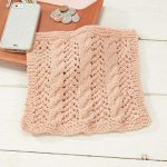 Washcloth Knitting Pattern Free Knitting Patterns Galore Cables And Lace Dishcloth