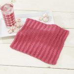 Washcloth Knitting Pattern Free Knitting Patterns Galore Simple Sorbet Dishcloth