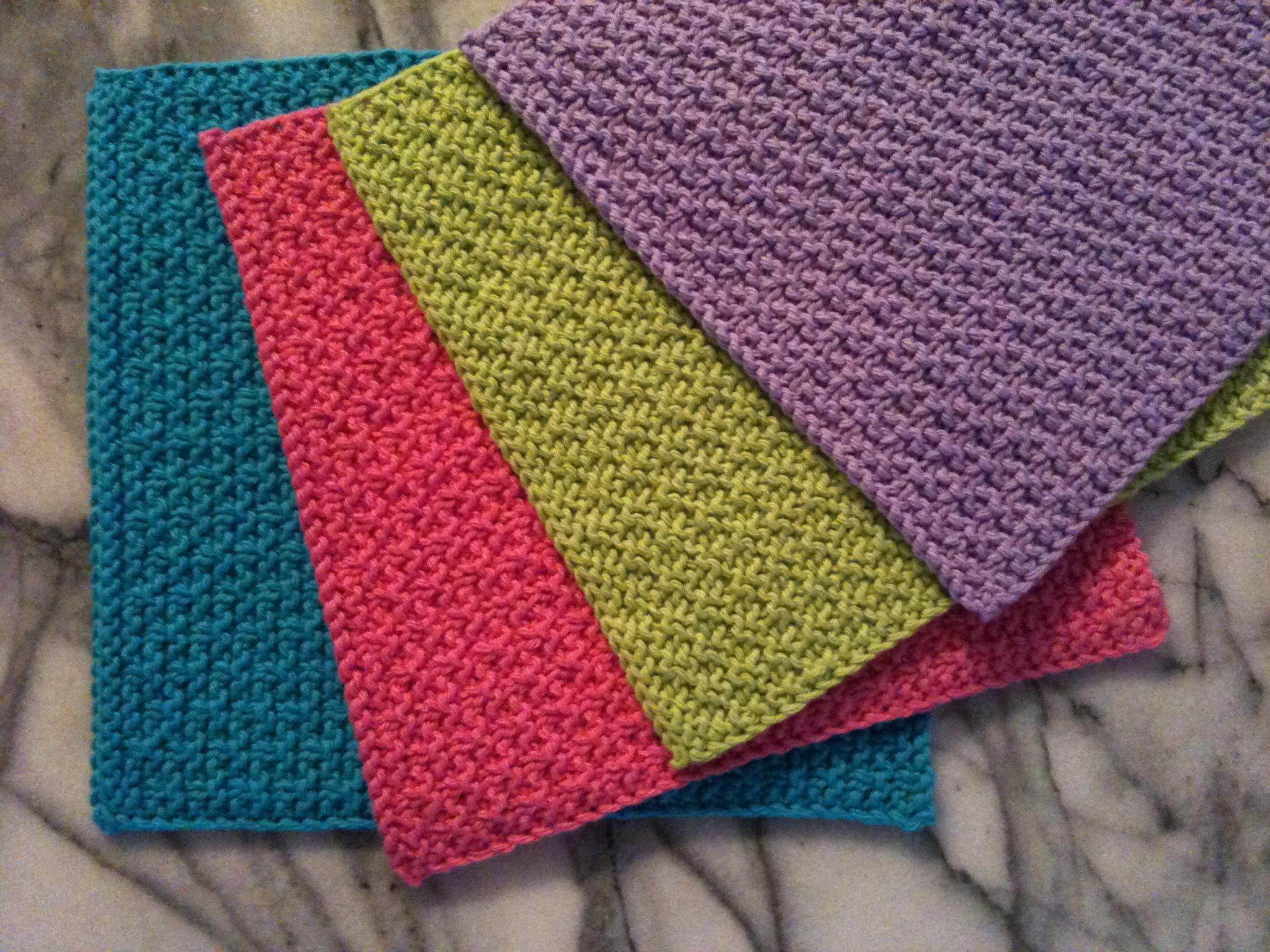 Washcloth Knitting Pattern Free Knitting Patterns Galore Snakes And Ladders Washcloth