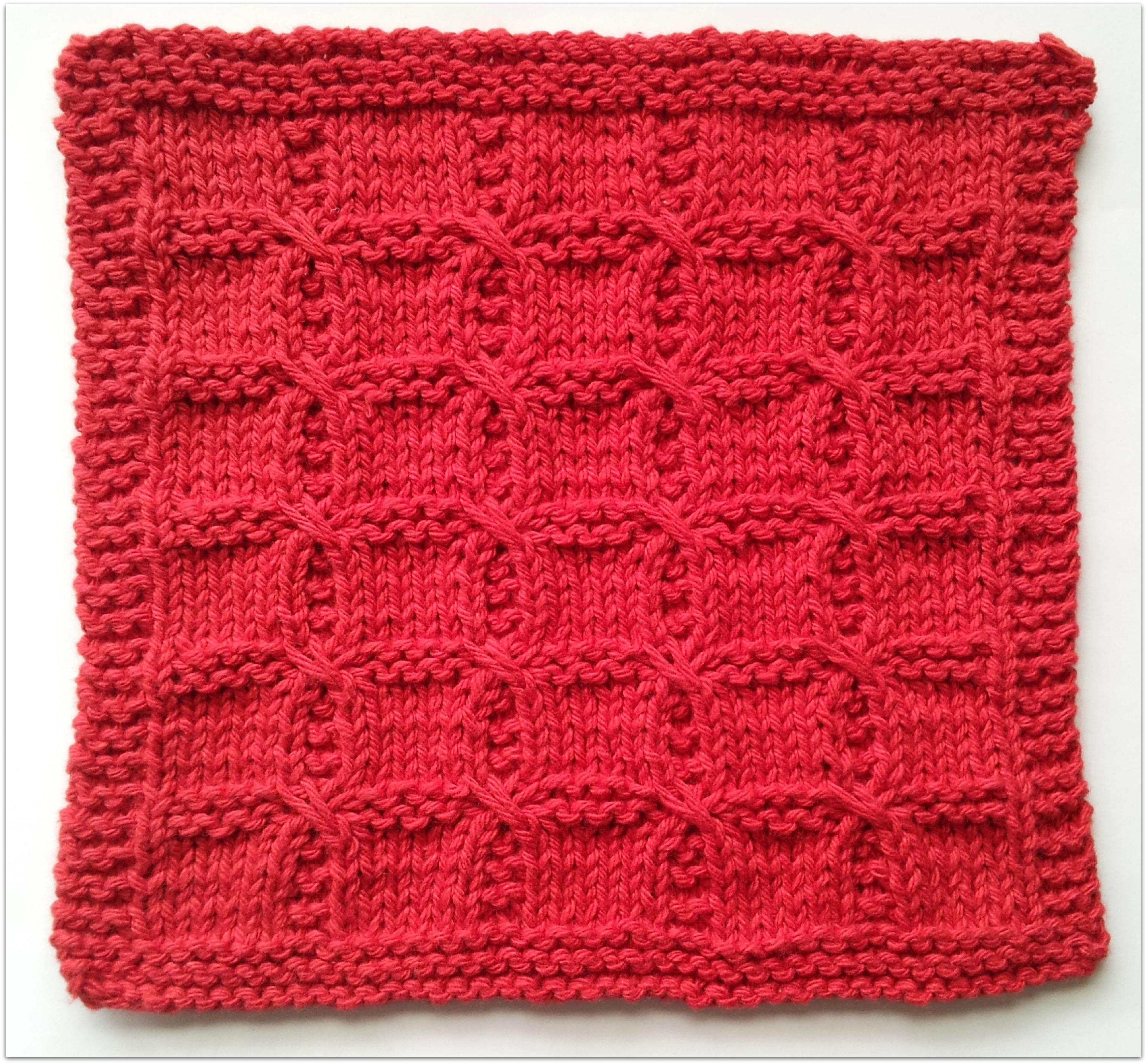 Washcloth Knitting Pattern Free Learn A Stitch Share The Love Knitalong Seriesfree Washcloth