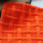 Washcloth Knitting Pattern Free Square Lattice Dishcloth Leah Michelle Designs