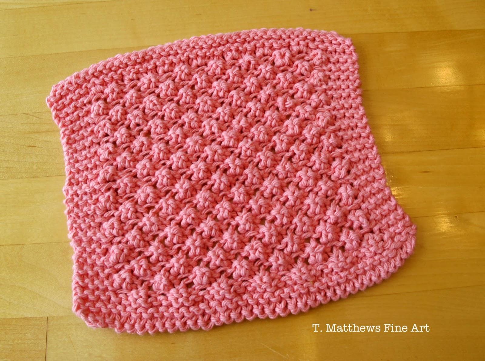 Washcloth Knitting Pattern Free T Matthews Fine Art Free Knitting Pattern Raspberry Ba Washcloth