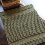 Washcloth Knitting Pattern Simple Copycat Dishcloth Leah Michelle Designs