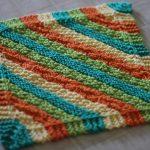 Washcloth Knitting Pattern Simple Dish Rag Patterns Patterns Gallery