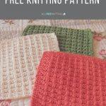 Washcloth Knitting Pattern Simple Nanas Favorite Dishcloth Pattern Knit Whit Pinterest Knitting