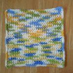 Washcloth Knitting Pattern Simple Simple Washcloth Free Crochet Pattern