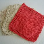 Washcloth Knitting Pattern Simple The Simplest Blanket You Can Knit Colleens Creations