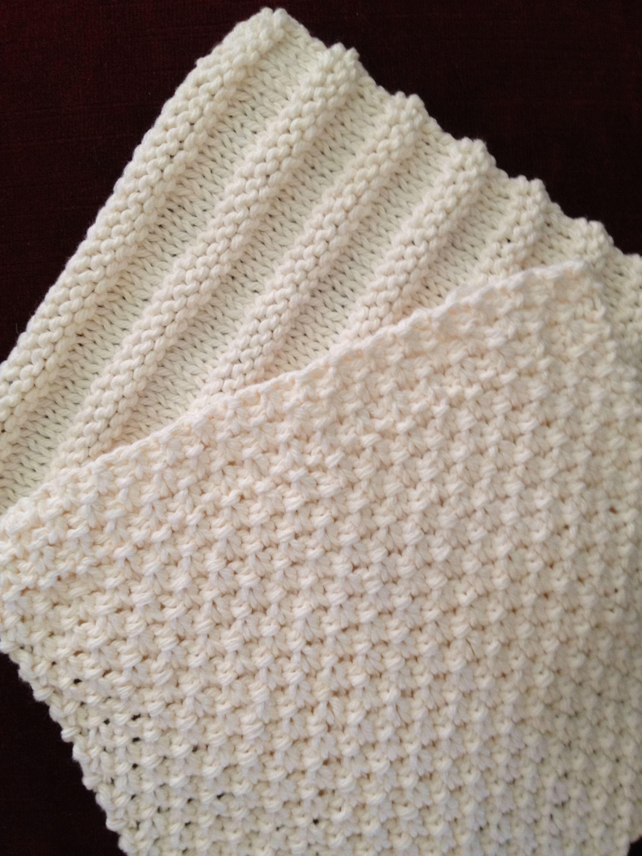 Washcloth Knitting Pattern Wash Cloth Quartet For Beginning Knitters Crochet Knitting